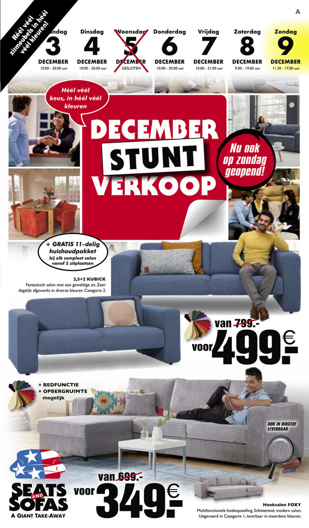 Seats and Sofas folder van 03/12/2018 tot 09/12/2018 - Weekpromoties 49