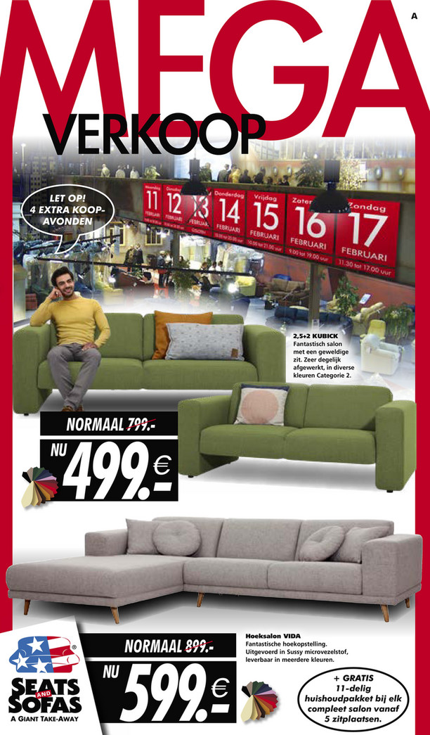 Seats and Sofas folder van 11/02/2019 tot 17/02/2019 - Weekpromoties 7
