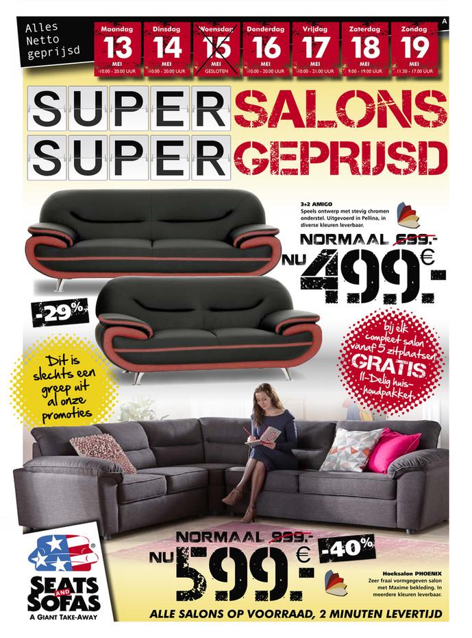 Seats and Sofas folder van 12/05/2019 tot 19/05/2019 - Weekpromoties 20