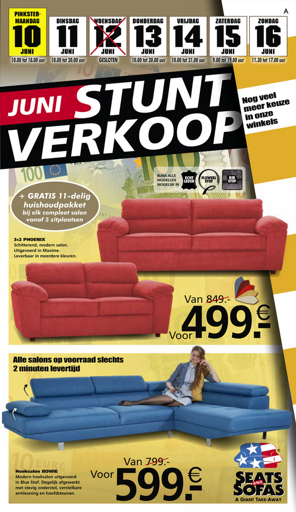 Seats and Sofas folder van 10/06/2019 tot 16/06/2019 - Weekpromoties 24