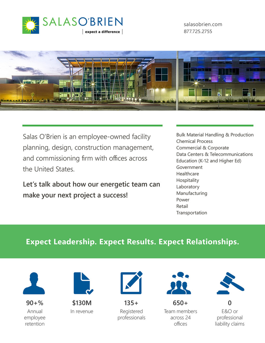 Salas O'Brien - Firm Overview - Page 1 - Created with