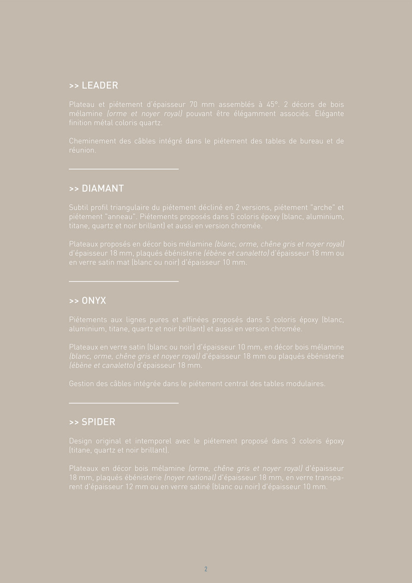 Bureau Noir Et Blanc gbs - catalogue manager - page 1 - created with publitas