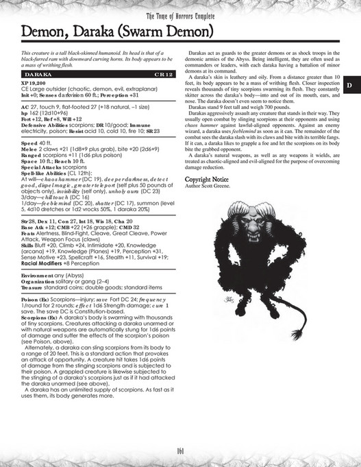 My publications - The Tome of Horrors (Complete) - Page 162-163