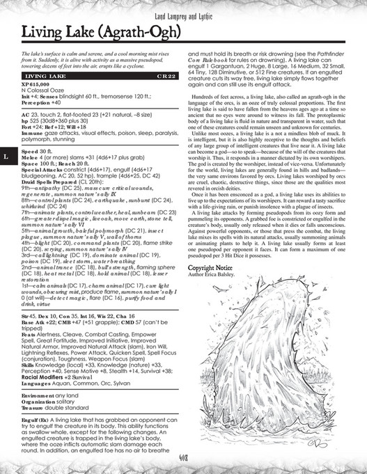 My publications - The Tome of Horrors (Complete) - Page 408-409