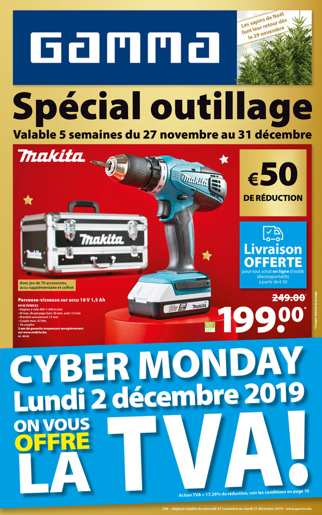 Folder Gamma du 27/11/2019 au 31/12/2019 - Promotions de la semaine 48