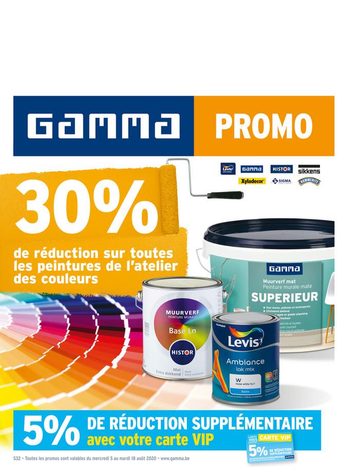 Folder Gamma du 05/08/2020 au 18/08/2020 - Promotions de la semaine 32