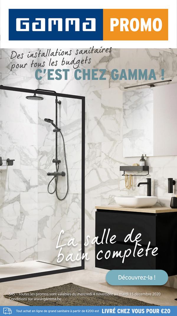 Folder Gamma du 06/11/2020 au 20/12/2020 - Gamma Sanitairspecial week 45