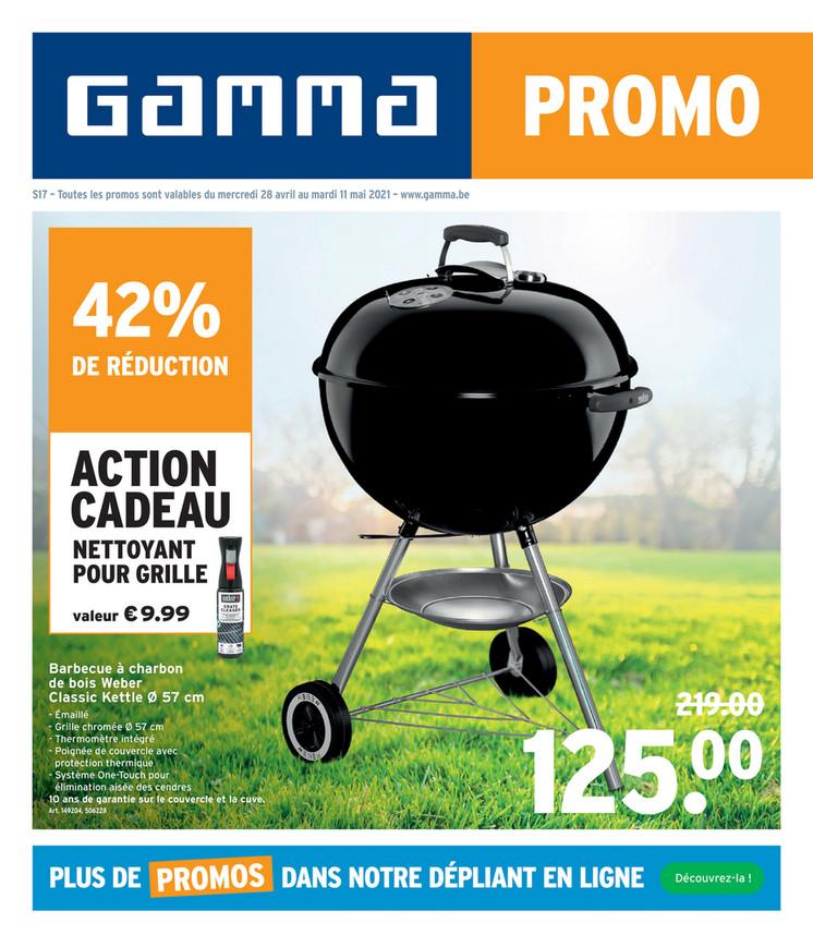 Folder Gamma du 28/04/2021 au 11/05/2021 - Promotions de la semaine 18