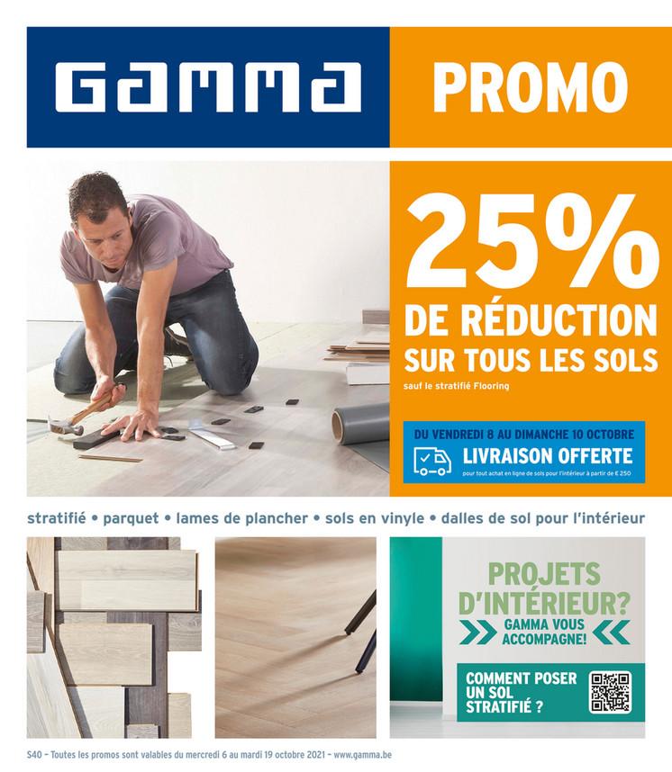 Folder Gamma du 06/10/2021 au 19/10/2021 - Promotions de la semaine 40