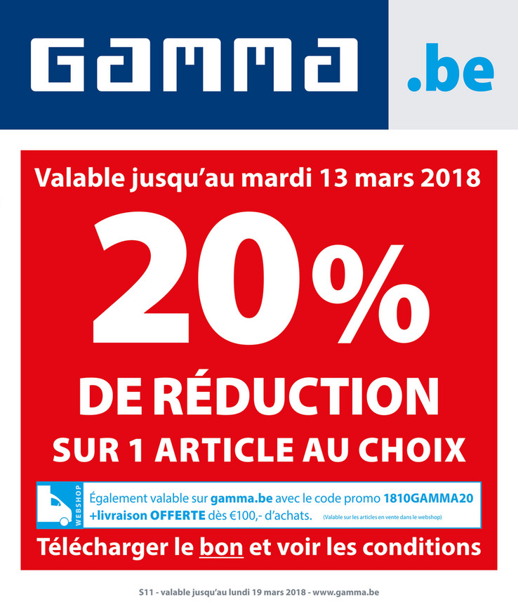 Folder Gamma du 12/03/2018 au 18/03/2018 - Promotions semaine 11.pdf