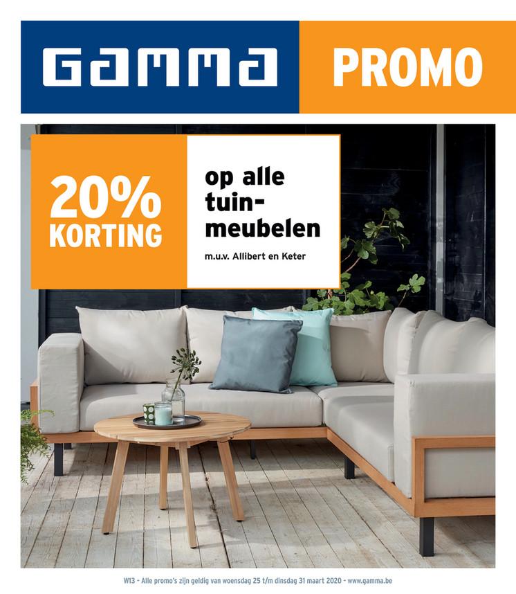 Gamma folder van 25/03/2020 tot 31/03/2020 - Weekpromoties 13