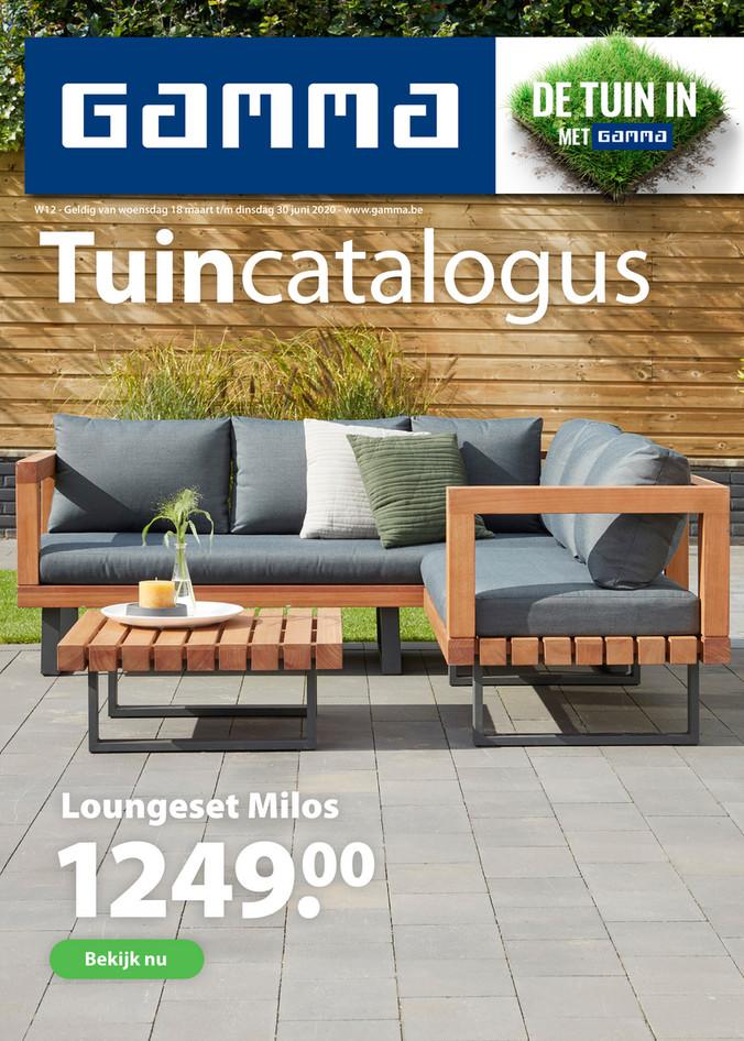 Gamma folder van 29/04/2020 tot 30/06/2020 - Tuin magazine 2020
