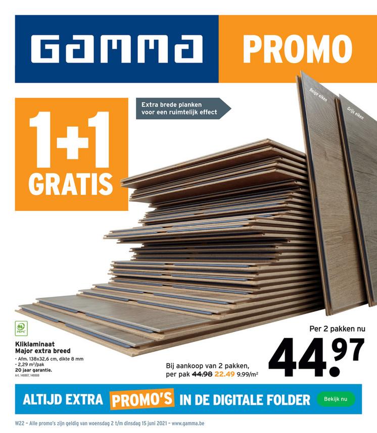 Gamma folder van 01/06/2021 tot 15/06/2021 - Weekpromoties 23