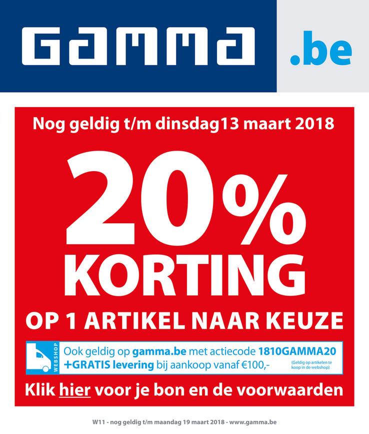 Gamma folder van 12/03/2018 tot 18/03/2018 - promoties week 11.pdf