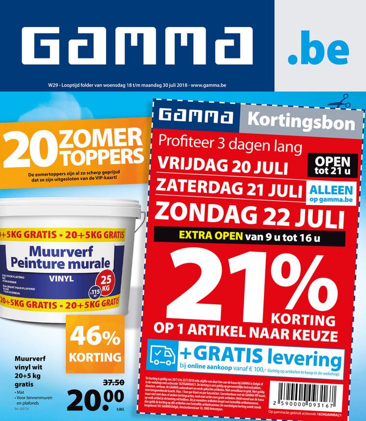 Gamma folder van 18/07/2018 tot 30/07/2018 - Gamma 29_NL_Online.pdf