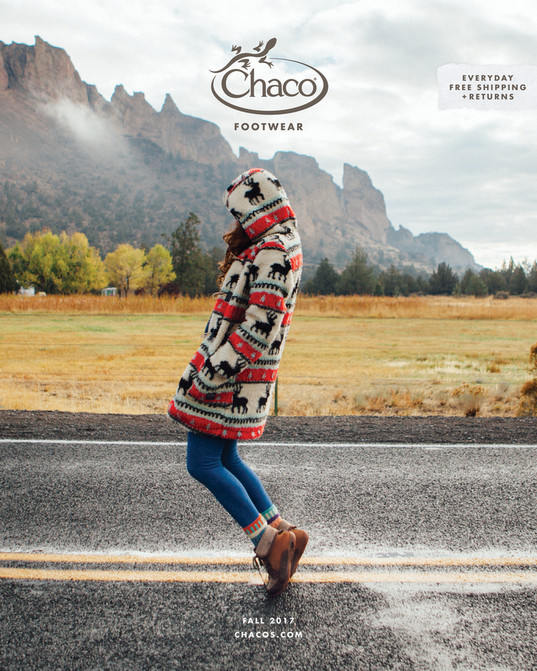 3f78181305a Chaco - Fall 2017 Catalog - Page 1