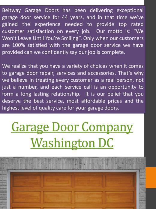 Garage Doors Dc Dock Leveler Washington Dc Page 1 Created With