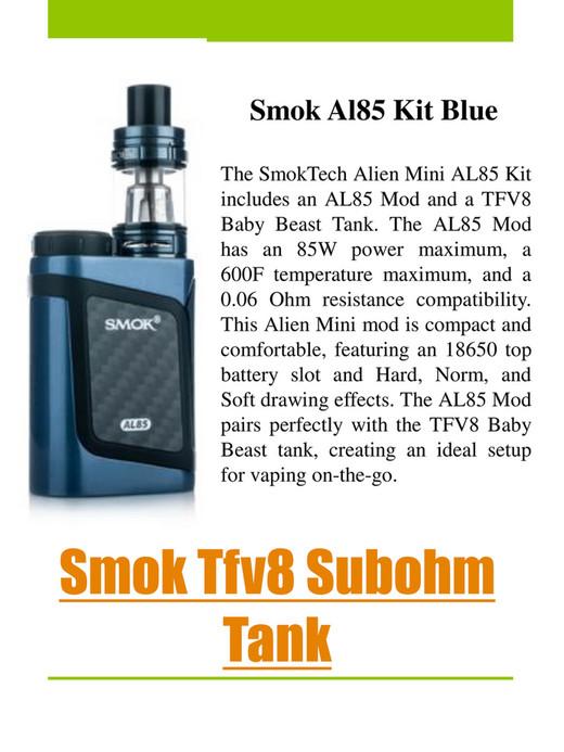Alien Vape - Smok Alien 220w - Page 6-7 - Created with Publitas com
