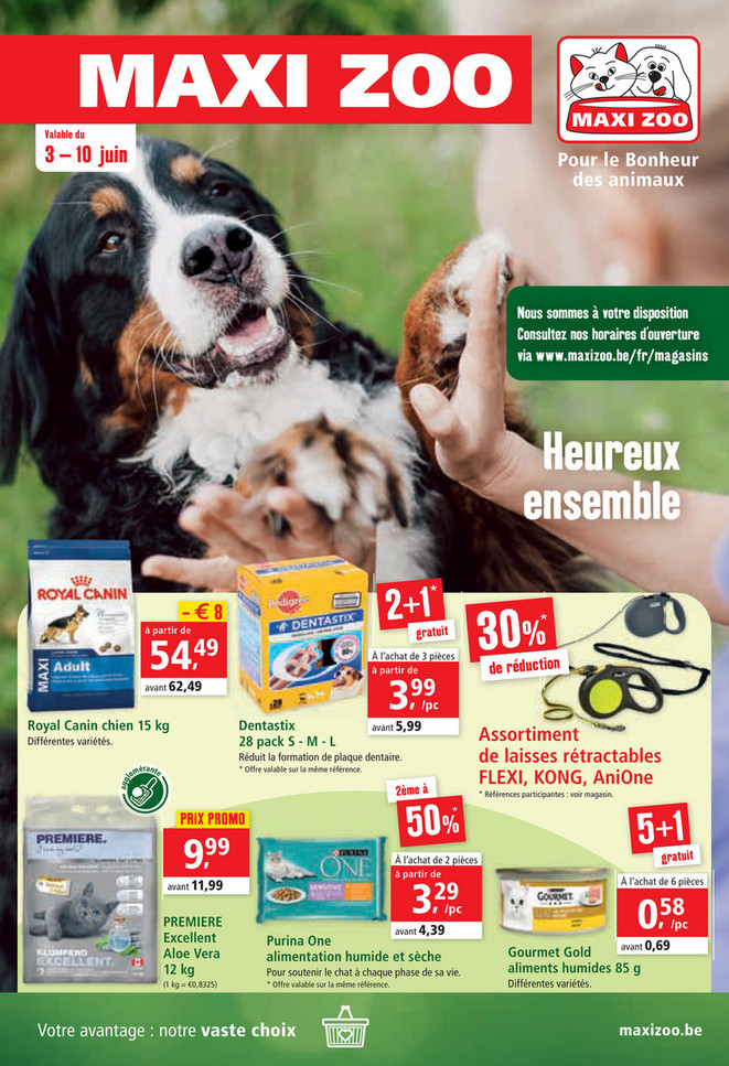 Folder Maxi Zoo du 03/06/2020 au 10/06/2020 - Promotions de la semaine 23