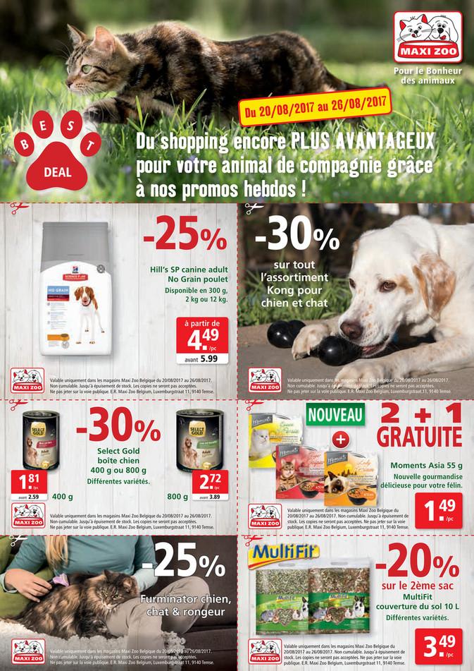 Folder Maxi Zoo du 20/08/2017 au 26/08/2017 - Maxi Zoo Bestdeal Aug FR W3.pdf