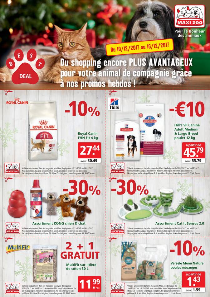Folder Maxi Zoo du 10/12/2017 au 16/12/2017 - Maxi Zoo Bestdeal December FR W2 web.pdf