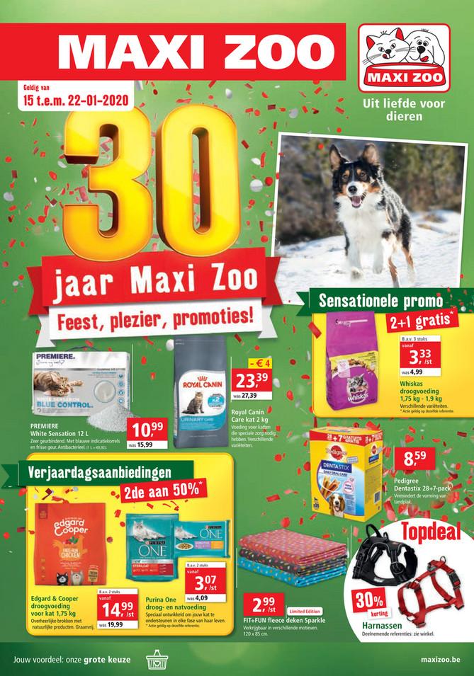 Maxi Zoo folder van 15/01/2020 tot 22/01/2020 - Weekpromoties 3