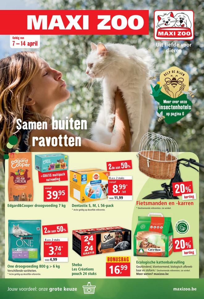 Maxi Zoo folder van 07/04/2021 tot 14/04/2021 - Weekpromoties 14