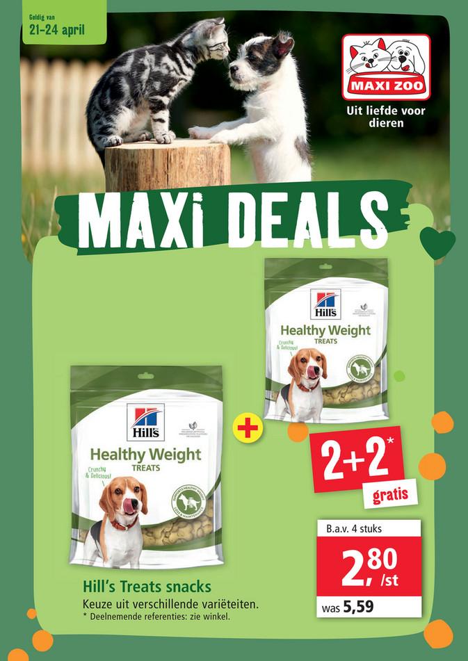 Maxi Zoo folder van 21/04/2021 tot 24/04/2021 - Weekpromoties 15