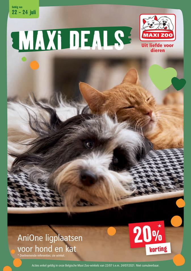 Maxi Zoo folder van 22/07/2021 tot 24/07/2021 - Weekpromoties 29