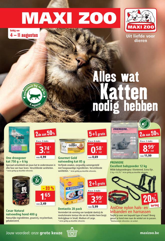 Maxi Zoo folder van 04/08/2021 tot 11/08/2021 - Weekpromoties 32