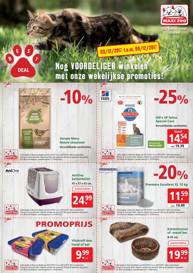 Maxi Zoo folder van 03/12/2017 tot 09/12/2017 - Maxi Zoo Bestdeal December NL W1 web.pdf