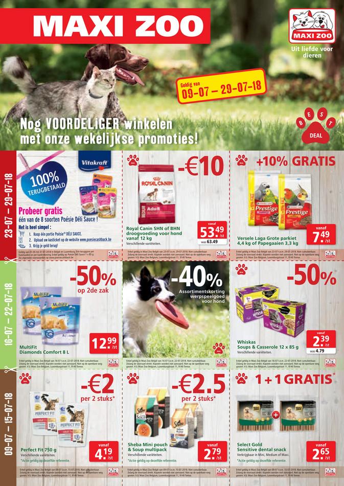 Maxi Zoo folder van 09/07/2018 tot 29/07/2018 - Best Deals Juli NL Web.pdf