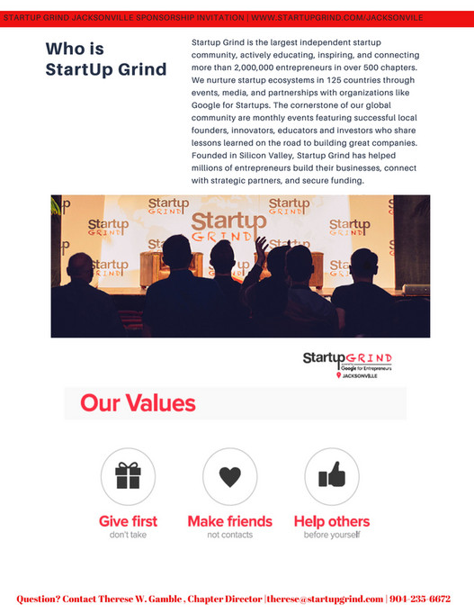 CRPC Consulting, LLC - StartUp Grind Jax Sponorship 2019 - Page 1