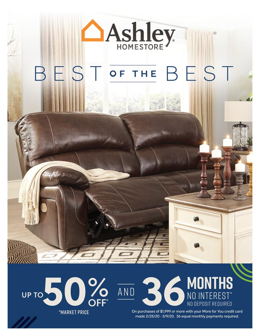 morris furniture company - ashley digital catalog - page 1