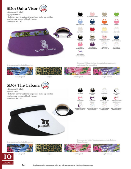770c5a63b27 MdM GOLF BRANDS - Imperial-Collection-2017 - Page 66-67 - Created ...