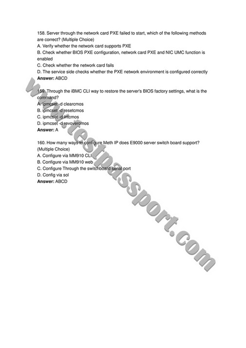 My publications - real Huawei H20-651 exam questions - Page 2-3