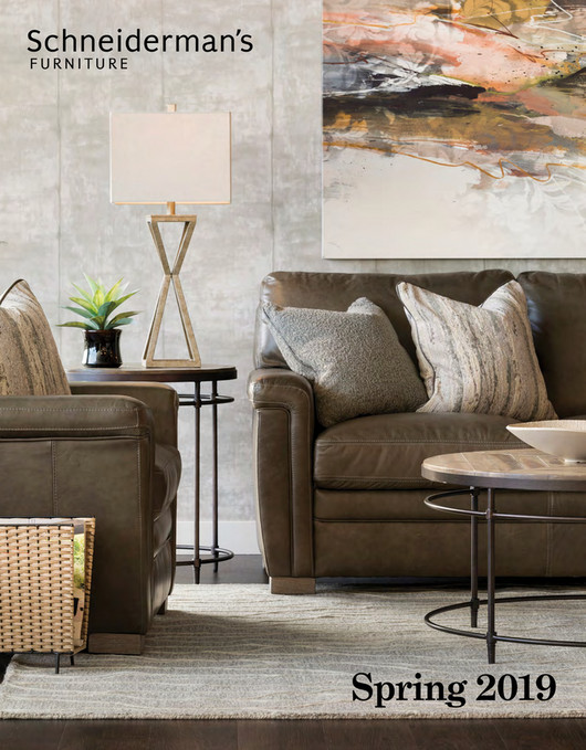Schneiderman S Furniture Spring 2019 Catalog Page 1 Created