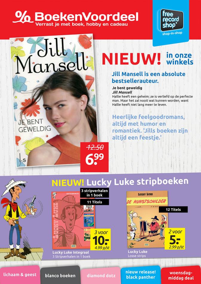 BoekenVoordeel folder van 22/06/2018 tot 30/06/2018 - Boekenvoordeel Jill Mansell