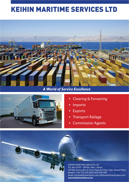 Freight Logistics Magazine 12th Edition - Page 4-5 - Created
