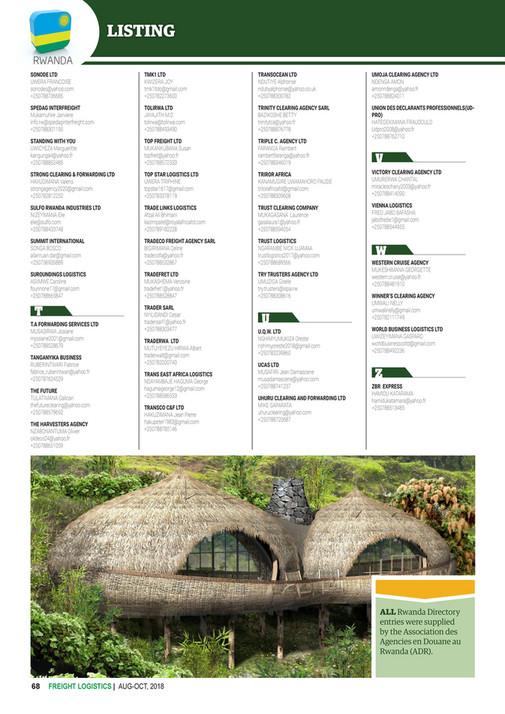 feaffa com - FREIGHT LOGISTICS MAGAZINE & DIRECTORY ISSUE 14 (AUG