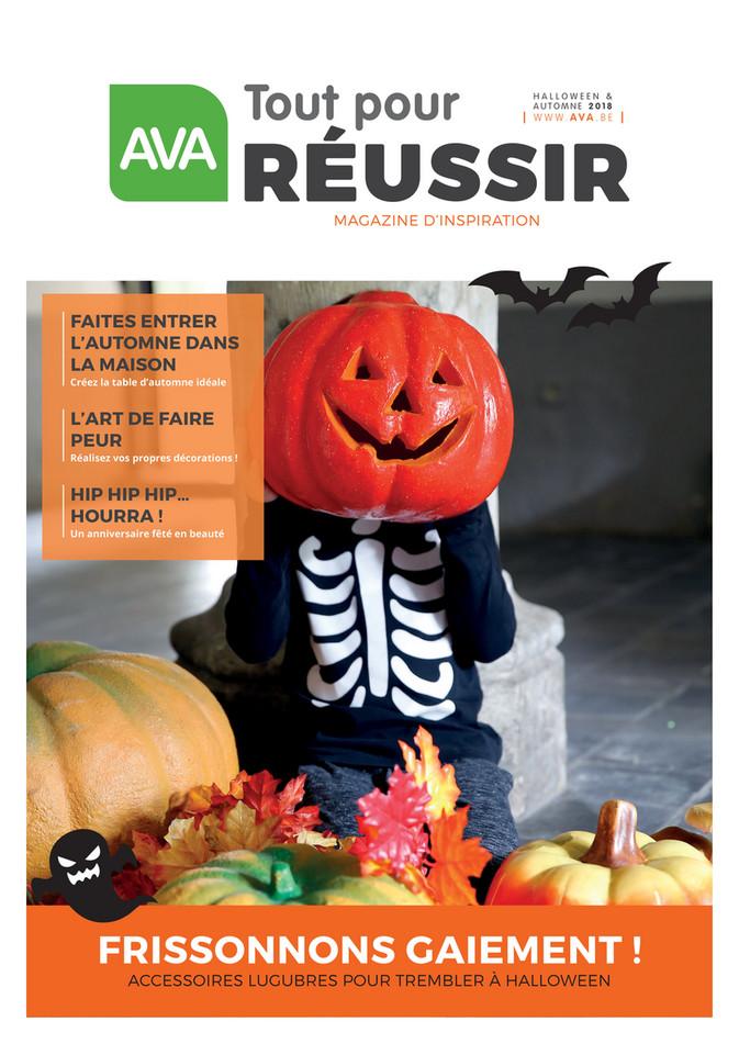 Folder Ava du 26/09/2018 au 21/12/2018 - Magazine Herfst Halloween