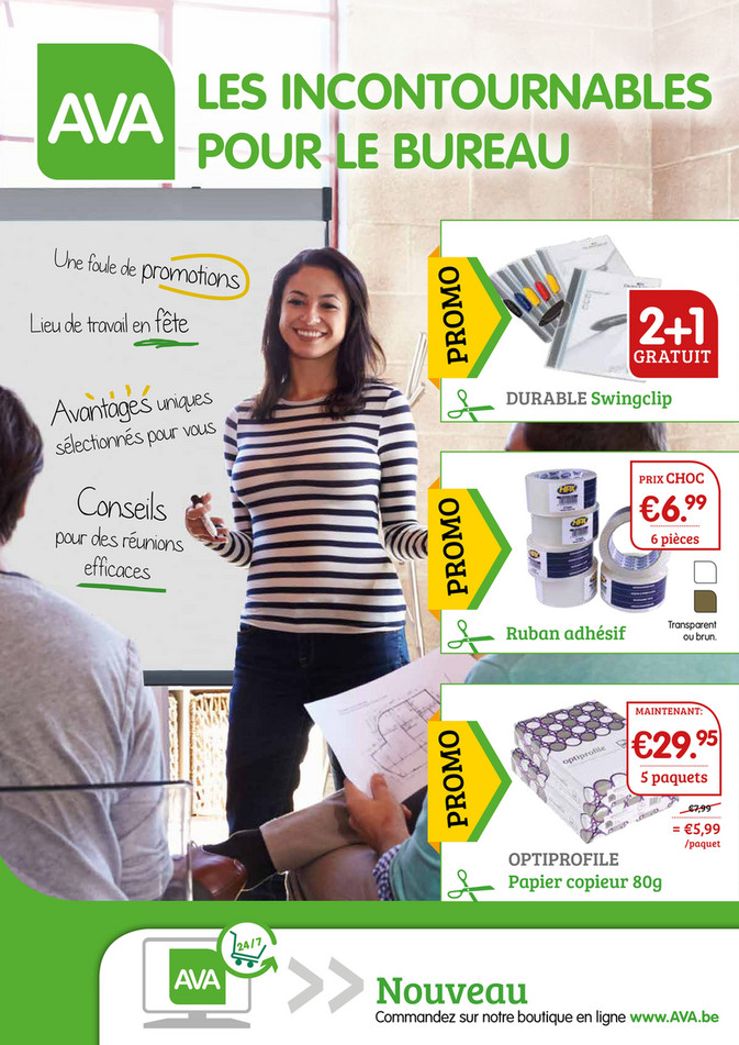 Folder Ava du 30/10/2018 au 16/12/2018 -  Fournitures de bureau
