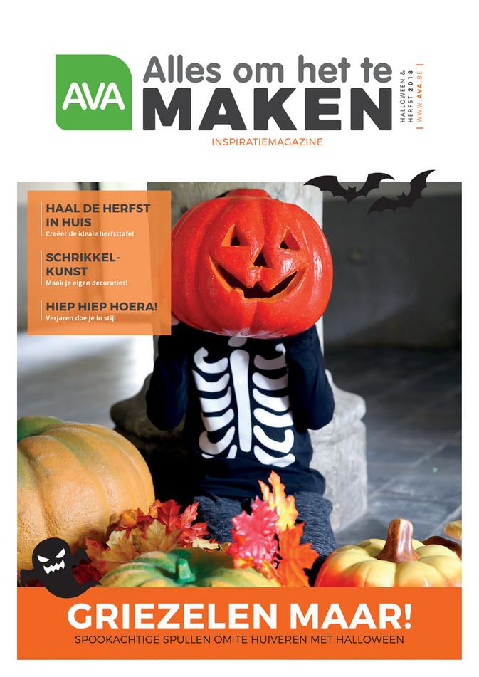 Ava folder van 26/09/2018 tot 21/12/2018 - Magazine Herfst Halloween