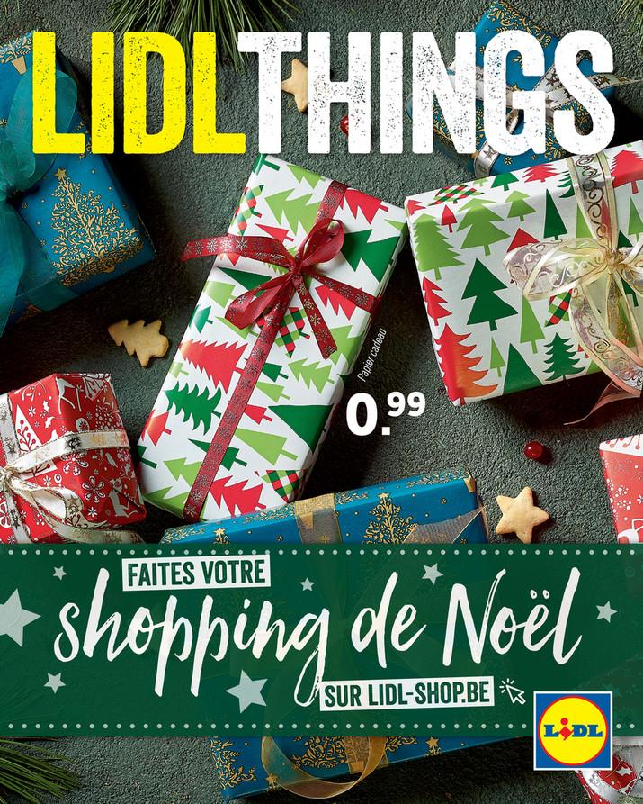 Folder Lidl du 01/12/2019 au 31/12/2019 - Noël