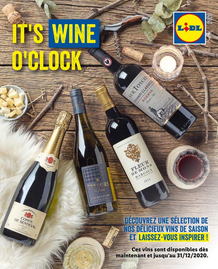 Promotions de la semaine 48 vin