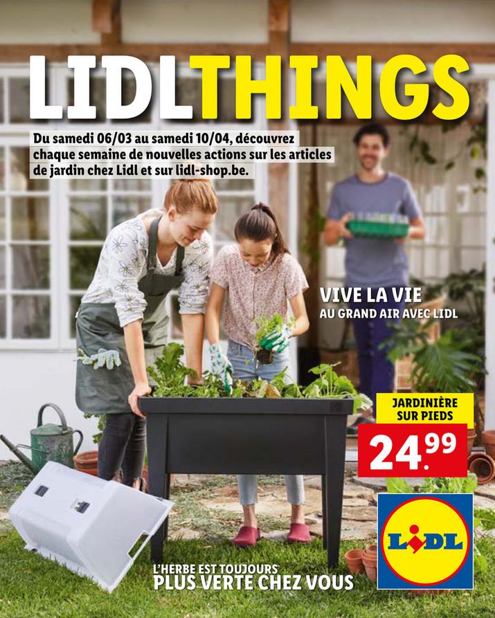 Folder Lidl du 06/03/2021 au 10/04/2021 - Promotions - tuin