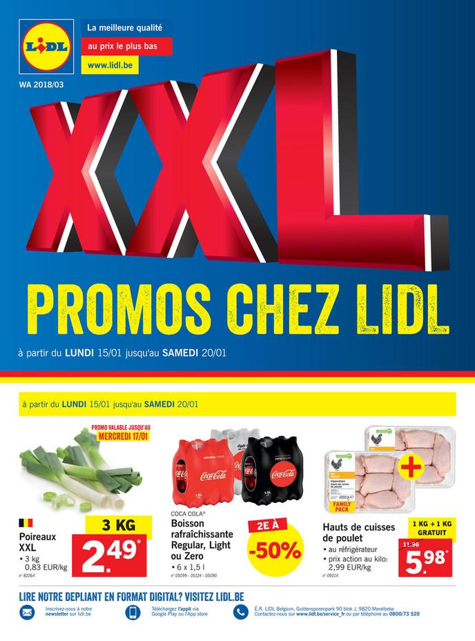 Folder Lidl du 12/01/2018 au 20/01/2018 - Soldes offres de la semaine 3 2018