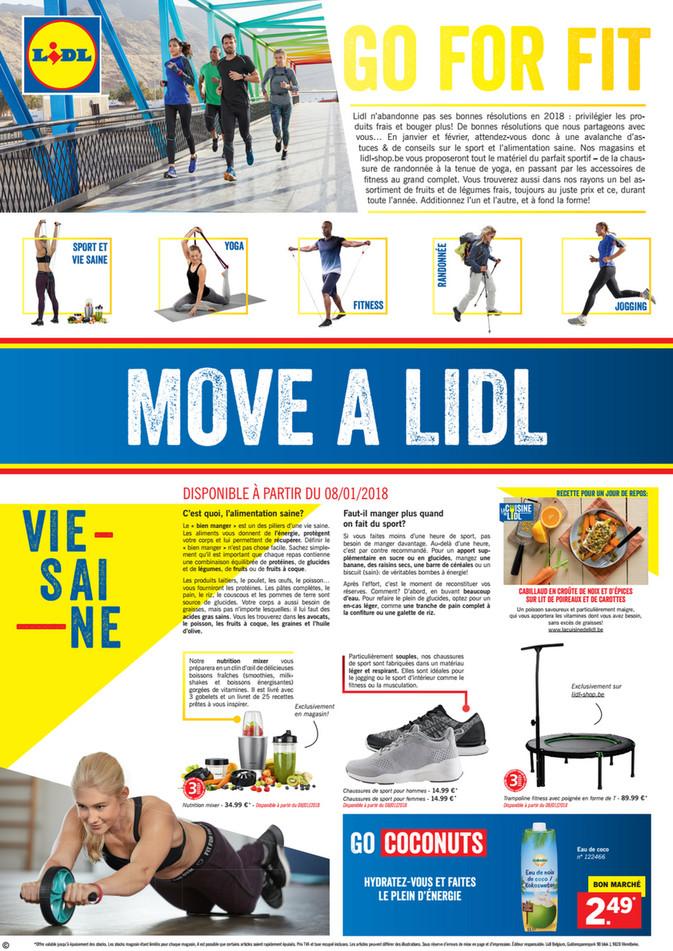 Folder Lidl du 09/01/2018 au 11/03/2018 - move a lidl - edition sport