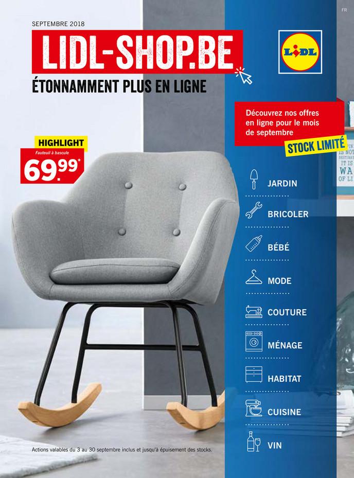 Folder Lidl du 04/09/2018 au 30/09/2018 - Magazine septembre