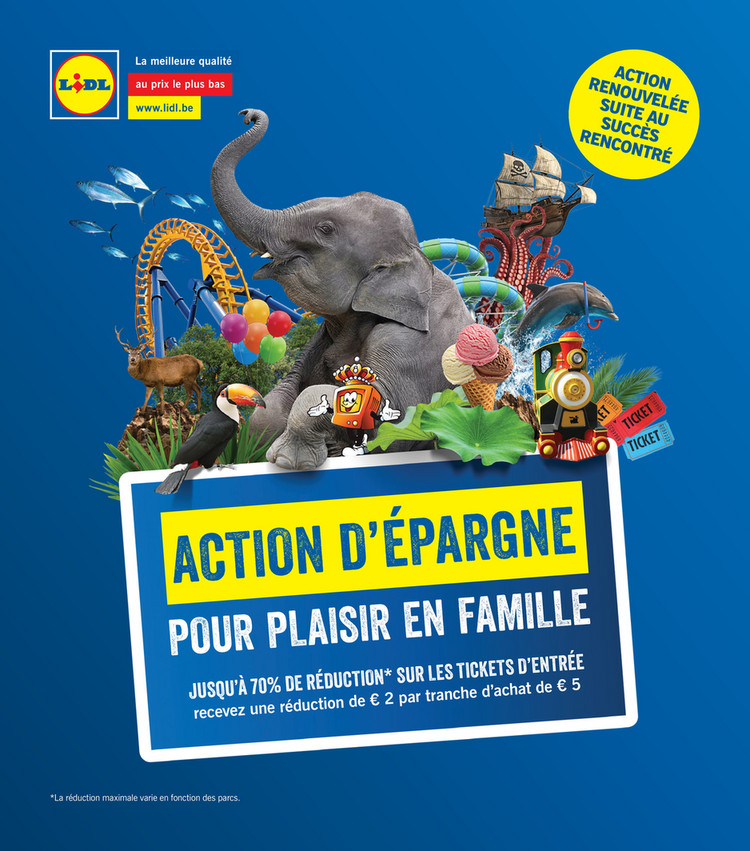Folder Lidl du 09/04/2019 au 09/06/2019 - Action d'epargne